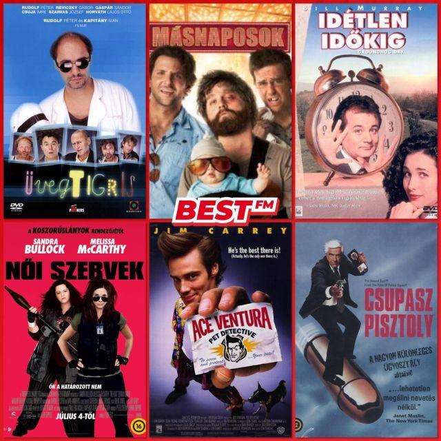 Szerinted mi a világ legjobb vígjátéka? 😁 Természetesen nem csak ezek közül választhatsz..😉 Ajánljunk egymásnak jó filmeket! Neked melyik a kedvenc? 🙂 B. Németh Dia #napkérdése
